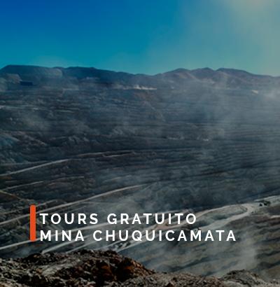 TOURS GRATUITOS MINA CHUQUICAMATA