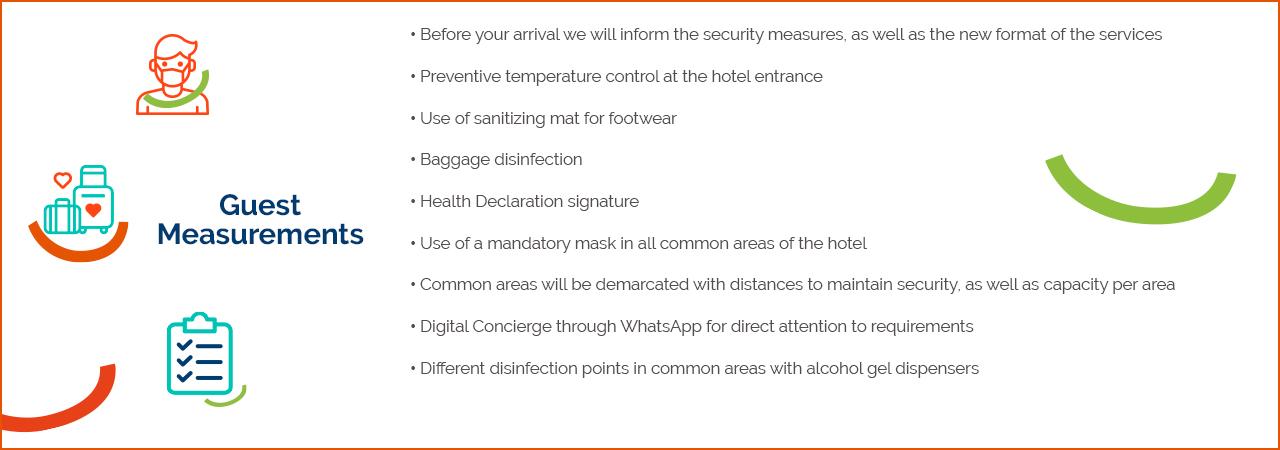 Medidas MDS Hoteles